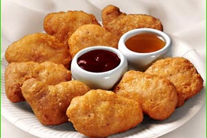 Avert your gaze. Only the pure of heart can look upon the McNuggets without going insane.