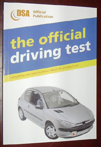 Don't settle for backstreet knock-offs. This is the OFFICIAL driving test!