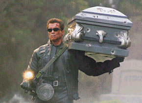 One of the reasons why Arnold wasn't asked to be in 'Four Weddings and a Funeral'.