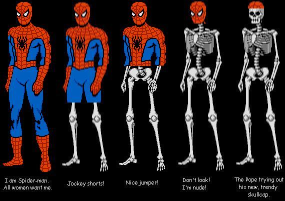 Black spiderman dress up games